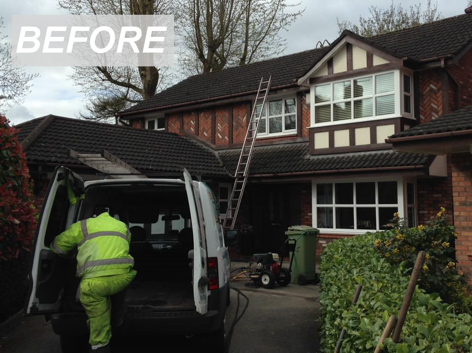 Roof Cleaning And Driveway In Cheshire